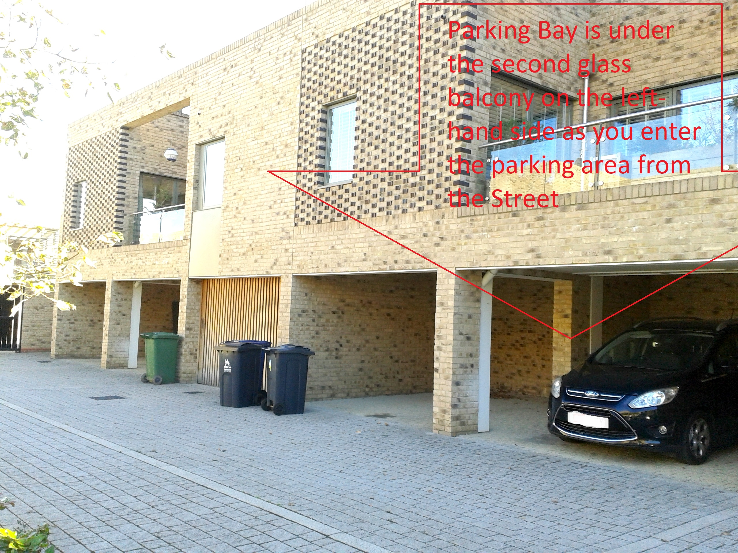 119 Addenbrookes road parking area