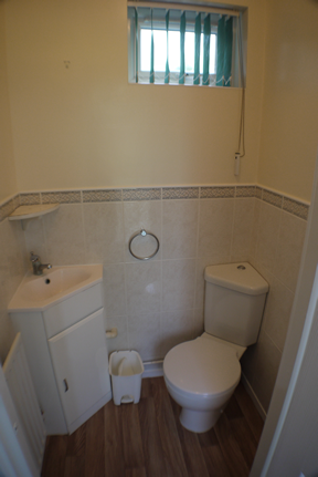 12 borne road downstairs toilet