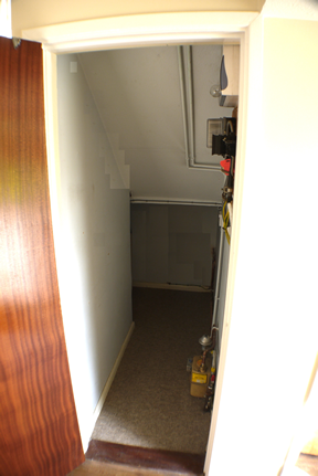 7 Penarth place under stairs cupboard
