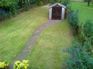 95 kendall way rear garden